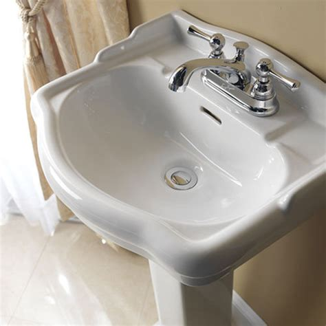 barclay stanford 18 1 8 inch pedestal lavatory van dyke