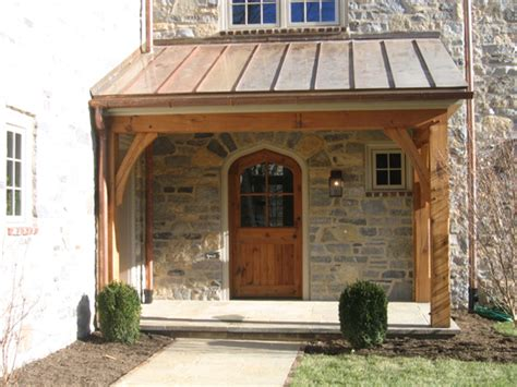 Build Back Porch by The Front And Back Porch Timberframing By Methods