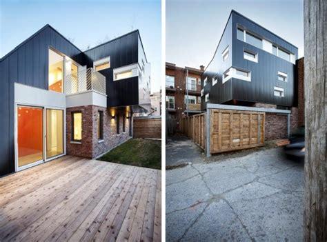 Re D Escalier Contemporaine Montreal by Extension D Une Maison En Quintuplex 224 Montr 233 Al Par Nature
