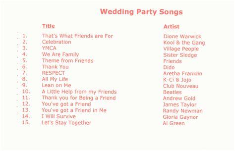 wedding entrance songs popular wedding r b wedding songs to walk the aisle