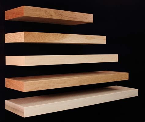 Custom Made Wood Floating Shelves   Morespoons #1210d6a18d65