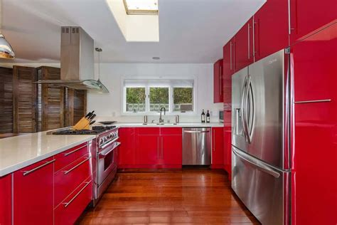 Kuche Rot by 28 Kitchen Ideas With Cabinets 2019 Photos