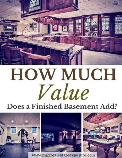how much value does a bedroom add does a finished basement add value to my home
