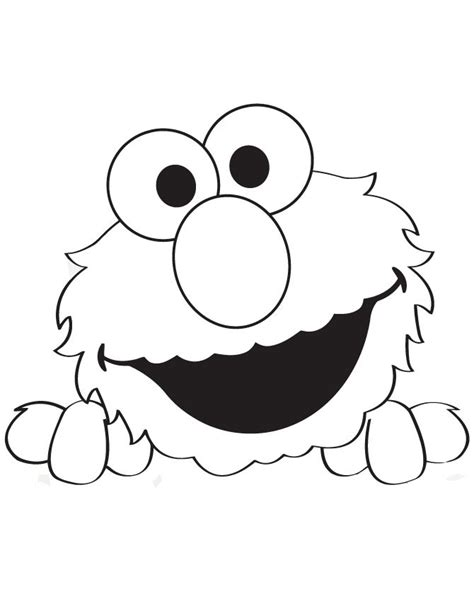Printable Elmo Cake Template by Peek A Boo Elmo Coloring Page Hm Coloring Pages Elmo