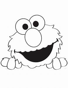 peek a boo elmo coloring page hm coloring pages elmo With printable elmo cake template
