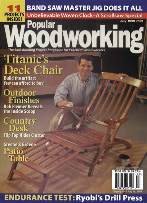 popular woodworking magazine july  digital edition