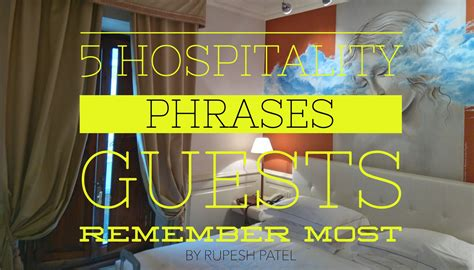 hospitality phrases guests remember   smartguests