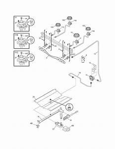 Frigidaire Fgf337ecc Gas Range Parts