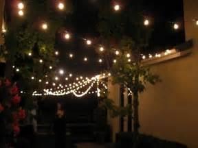 string lights patio lighting backyard outdoor indoor 7 watt 100 clear bulbs set ebay