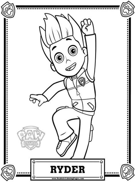 Paw Patrol Coloring Page Coloring Home