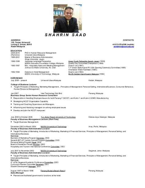 resume for account executive in malaysia resume ein 2015