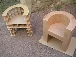 Meuble En Carton Design : 610 best images about meuble en carton on pinterest diy cardboard armchairs and bookshelves ~ Melissatoandfro.com Idées de Décoration