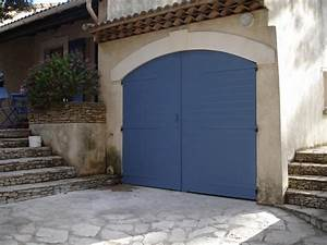 porte de garage volet battant aluminim alu vigouroux With porte de garage battant alu