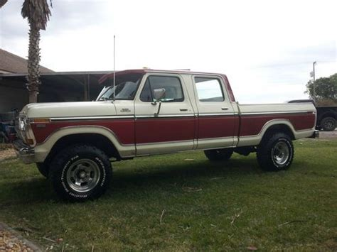Purchase used 1979 Ford F 250 crew cab short bed 4x4 400 V