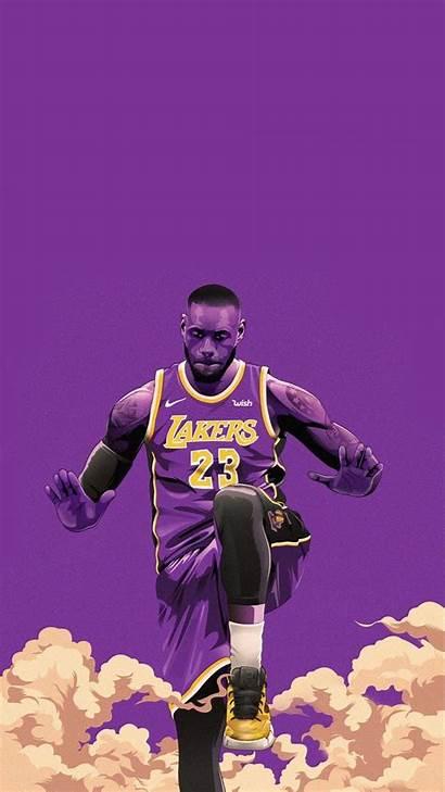 Lebron James Lakers Wallpapers Nba 2k20 Iphone