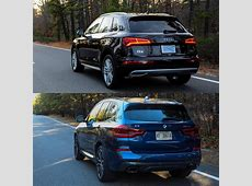 Photo Comparison 2018 BMW X3 vs 2017 Audi Q5