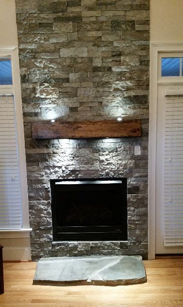 air stone  lowes fireplace remodel airstone