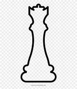 Chess Coloring Line Clipart Pinclipart sketch template