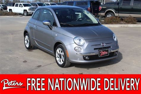 Fiat Pre Owned by Pre Owned 2017 Fiat 500 Lounge Hatchback In Longview