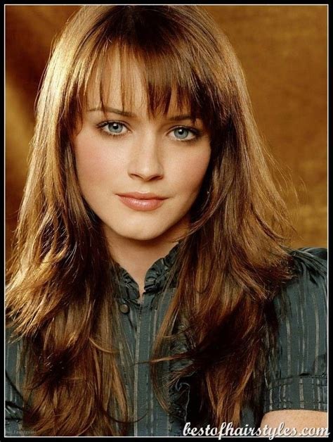 hairstyles for oblong faces bang hairstyles for oval