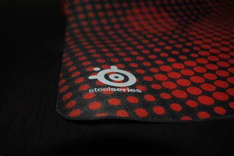 187 test tapis de souris steelseries qck heat orange pc
