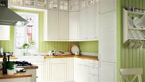 Ikea Landhausstil Küche : k che mit metod korpussen in wei mit bodbyn fronten in elfenbeinwei und elverdam mischbatterie ~ Orissabook.com Haus und Dekorationen