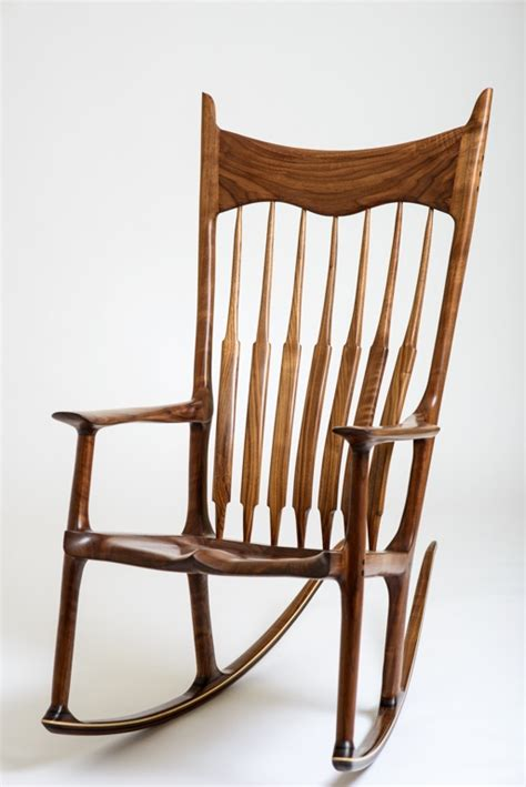 Maloof Rocking Chair Dimensions by Maloof Inspired Rocking Chair Parkinson Furniture Maker
