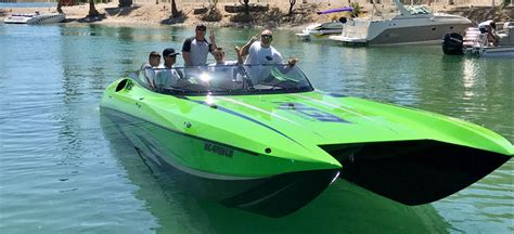 Havasu Boat Crash Yesterday by New Boats Engines
