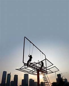 Double happiness billboard swing set colossal for Double happiness billboard swing set