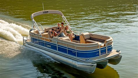 Lowe Boats Images by Lowe Boats Ss250 Walk Thru Pontoon Boat Top Quality New