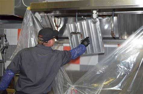 Vent Hood Filter Cleaning Services Commercial Kitchen