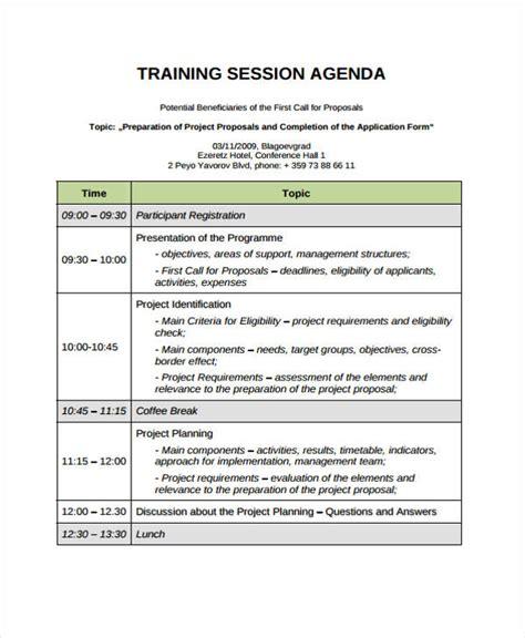 training seminar agenda template 44 agenda templates in pdf free premium templates