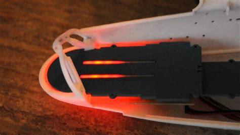 Short Test Of A Prototype Running Light Pcb Board For Polar Lights 350 Refit Enterprise Youtube