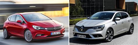 siege megane 2 compact car battle megane vs astra with poll