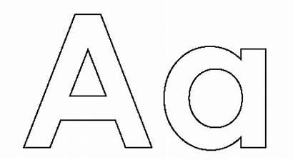 Letter Coloring Pages Alphabet Kindergarten Printable Drawing