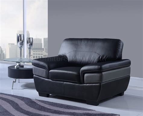 grey and black leather sofa u7230 sofa in black grey bonded leather by global w options