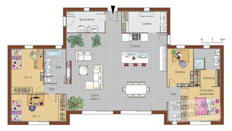 bureau de maison design maison bois dé du plan de maison bois faire