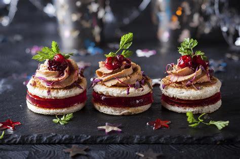 foie gras canape quinze recettes festives de verrines toasts ou cakes pour