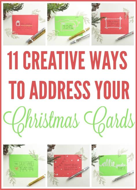 unique ways to use 11 creative ways to address cards 4