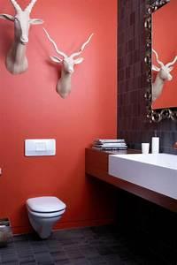 Farbe Für Badezimmer : gestaltung mit farbe wann sollte man rot im badezimmer ~ Lizthompson.info Haus und Dekorationen