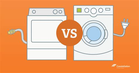 gas vs electric dryer which is more energy efficient a gas or electric dryer
