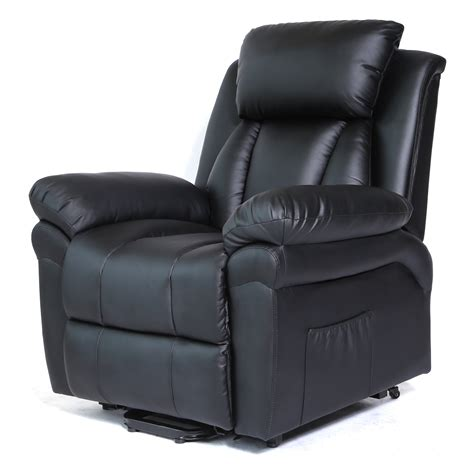 power lift recliner chair heated with