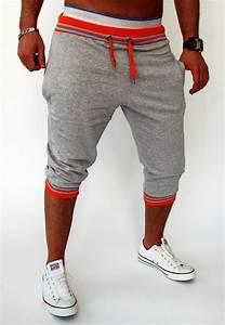 2017 Fahion Cotton Shorts Men Summer Casual Bermuda Harem Shorts Mens Beach Fitness Sweat Shorts ...