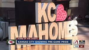 Kansas City Live Power And Light Kansas City Lights Up For The Chiefs