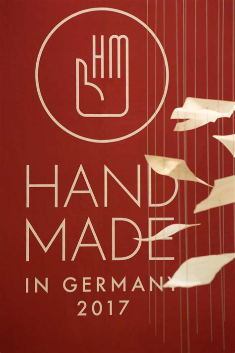 Handmade In Germany by Handmade In Germany Im Chinesischen Tv Handmade Worldtour
