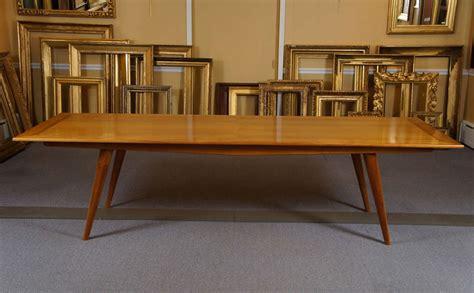 Custom Fruit Wood Table At 1stdibs