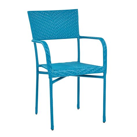 techni mobili tv cabinet resin wicker outdoor arm chair blue