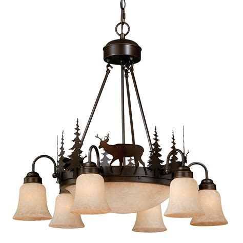 rustic chandeliers downlight chandelier black