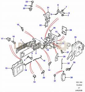 Front Door Latch Mechanism - From Aa270227