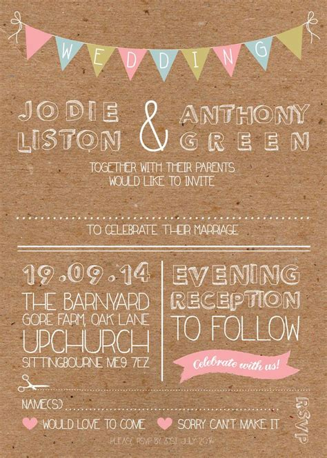 shabby chic wedding reception invitations 1000 ideas about shabby chic invitations on pinterest rustic bridal shower invitations